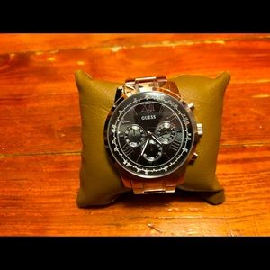 Guess Chronograph Watch - Silver